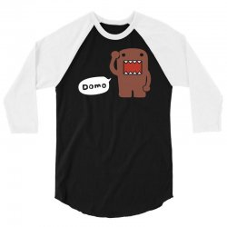 domo kun japanese tv, anime, manga comics 3/4 Sleeve Shirt | Artistshot