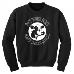 funny cow Youth Sweatshirt | Artistshot
