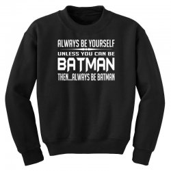 funny batman Youth Sweatshirt | Artistshot