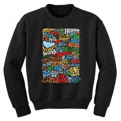 funny john lennon imagine quote Youth Sweatshirt | Artistshot