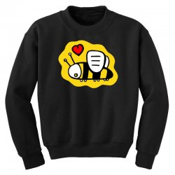 love bee lover valentine Youth Sweatshirt | Artistshot