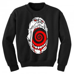 screaming face Youth Sweatshirt | Artistshot