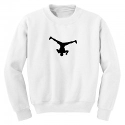 breakdancer spin Youth Sweatshirt | Artistshot