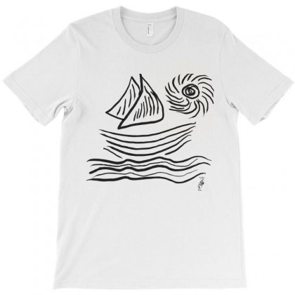 Sea And Sun T-shirt Designed By Issam