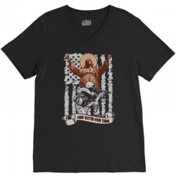 The American Soldier   God, Family, Country t shirt V-Neck Tee | Artistshot