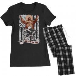 The American Soldier   God, Family, Country t shirt Women's Pajamas Set | Artistshot