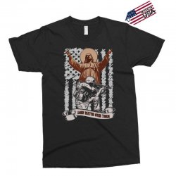 The American Soldier   God, Family, Country t shirt Exclusive T-shirt | Artistshot