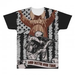 The American Soldier   God, Family, Country t shirt All Over Men's T-shirt | Artistshot