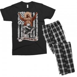 The American Soldier   God, Family, Country t shirt Men's T-shirt Pajama Set | Artistshot
