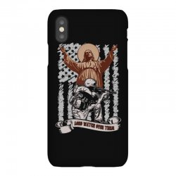 The American Soldier   God, Family, Country t shirt iPhoneX Case | Artistshot