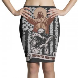 The American Soldier   God, Family, Country t shirt Pencil Skirts | Artistshot
