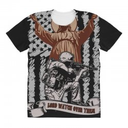 The American Soldier   God, Family, Country t shirt All Over Women's T-shirt | Artistshot