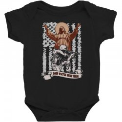 The American Soldier   God, Family, Country t shirt Baby Bodysuit | Artistshot