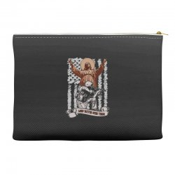 The American Soldier   God, Family, Country t shirt Accessory Pouches | Artistshot