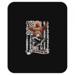 The American Soldier   God, Family, Country t shirt Mousepad | Artistshot