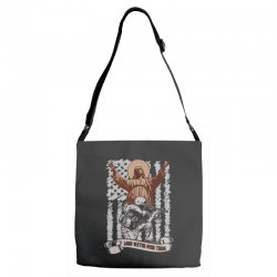 The American Soldier   God, Family, Country t shirt Adjustable Strap Totes | Artistshot