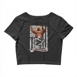 The American Soldier   God, Family, Country t shirt Crop Top | Artistshot