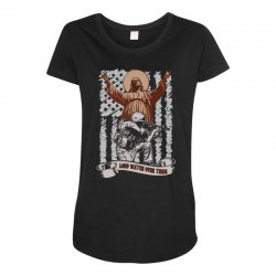 The American Soldier   God, Family, Country t shirt Maternity Scoop Neck T-shirt | Artistshot