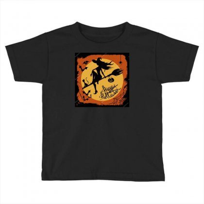 Depositphotos 31548891 Stock Illustration Halloween Illustration With Toddler T-shirt Designed By Baonguyen