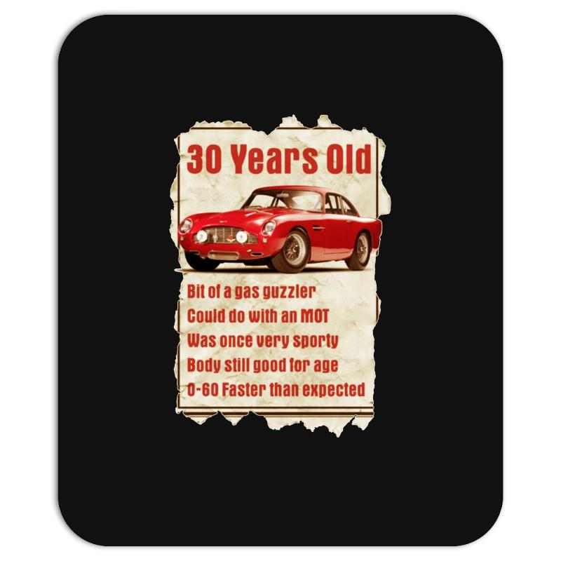 30 Year Old Aston Martin Funny Quote Ideal Birthday Gift Mousepad