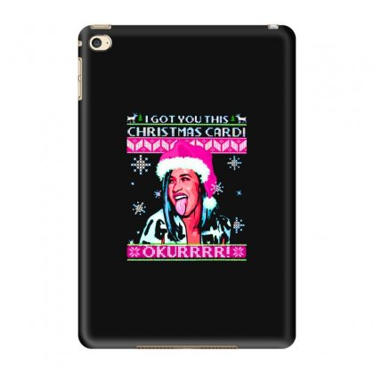 I Got You This Christmas Cardi Okurrrr Sweater Ipad Mini 4 Case Designed By Blqs Apparel