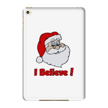 I Believe In Santa! Ipad Mini 4 Case Designed By Blqs Apparel