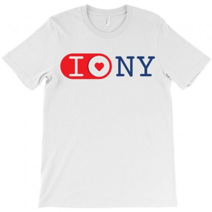 I Love New York Icon T-shirt Designed By Lion Star Art
