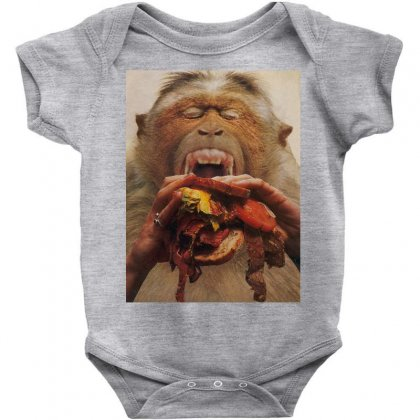 No More Fast Food Baby Bodysuit Designed By Art Pirate