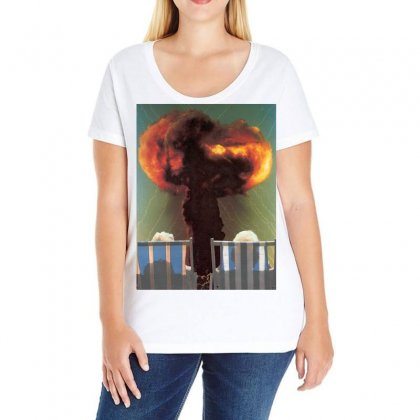 Facing The Future Ladies Curvy T-shirt Designed By Art Pirate