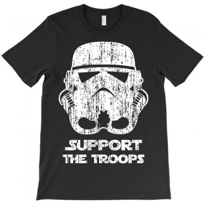 Support The Troops T-shirt Designed By Ikmal