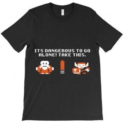 It's Dangerous To Go Alone T-shirt Designed By Ikmal