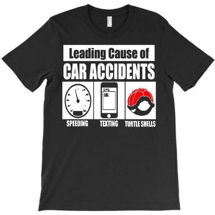 Leading Cause Of Accidents T-shirt Designed By Ikmal