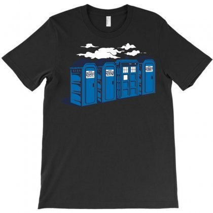 Port A Tardis T-shirt Designed By Ikmal