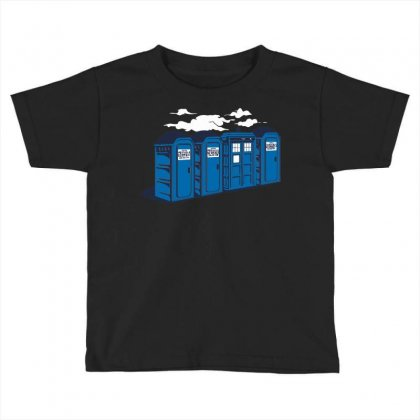 Port A Tardis Toddler T-shirt Designed By Ikmal