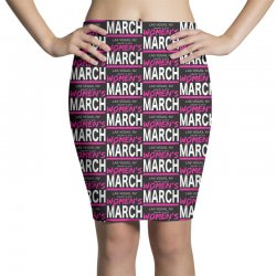 women's march 2019 women Pencil Skirts | Artistshot