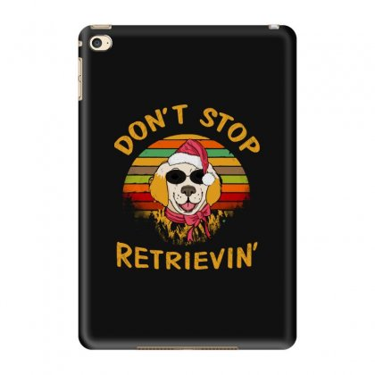 Don't Stop Retrieving Funny Dog With Glass Ipad Mini 4 Case Designed By Blqs Apparel