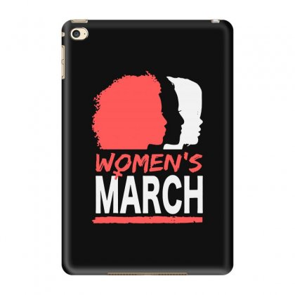 Women's March Ipad Mini 4 Case Designed By Blqs Apparel