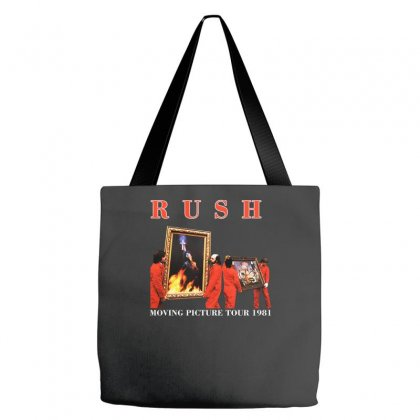 1981 Rush Moving Pictures Tote Bags Designed By F4