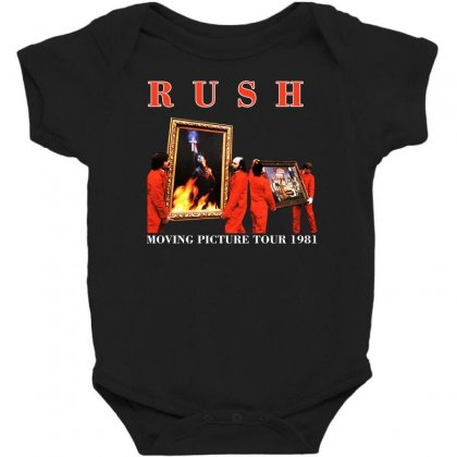 1981 Rush Moving Pictures Baby Bodysuit