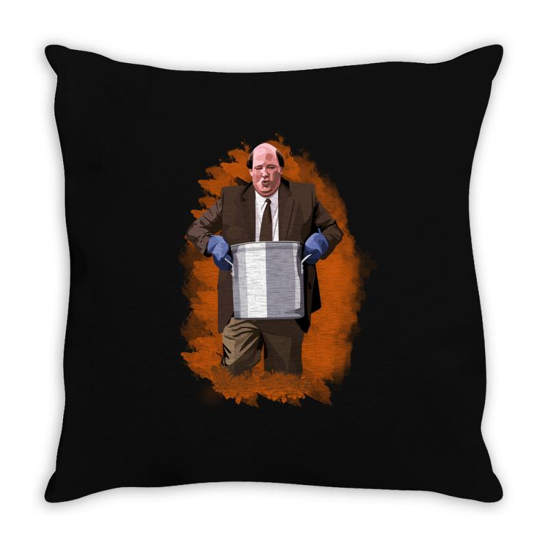 The Office Kevin Malone Throw Pillow | Artistshot