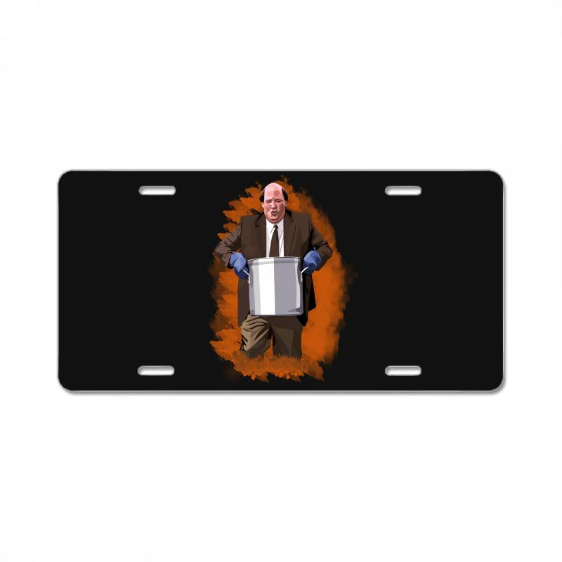 The Office Kevin Malone License Plate | Artistshot