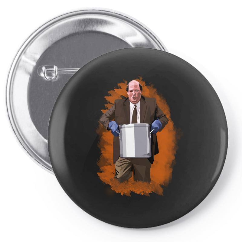 The Office Kevin Malone Pin-back Button | Artistshot