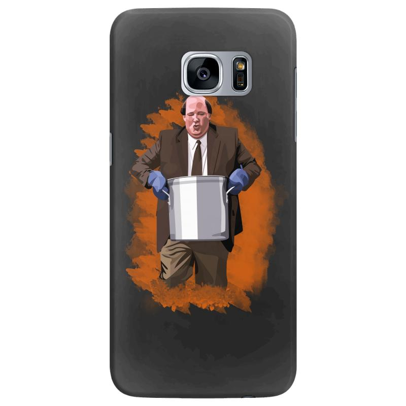 The Office Kevin Malone Samsung Galaxy S7 Edge Case | Artistshot