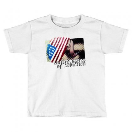 United States Of Addiction Toddler T-shirt Designed By Art Pirate