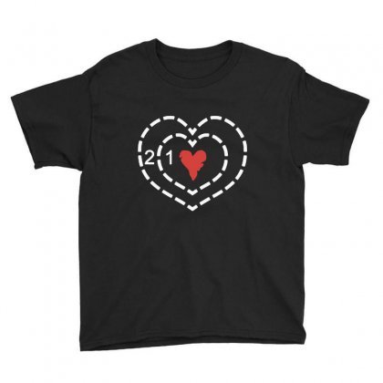 Heart Youth Tee Designed By Blqs Apparel