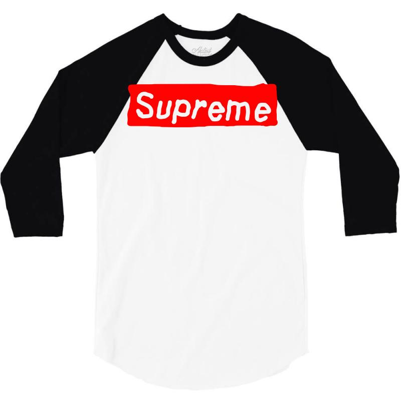 1b51c11ea9e7 Custom Fake Ass Supreme 3 4 Sleeve Shirt By Tee Shop - Artistshot