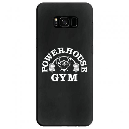 Fashion Bodybuilding Power House Gym Fitness Samsung Galaxy S8 Case Designed By Tee Shop