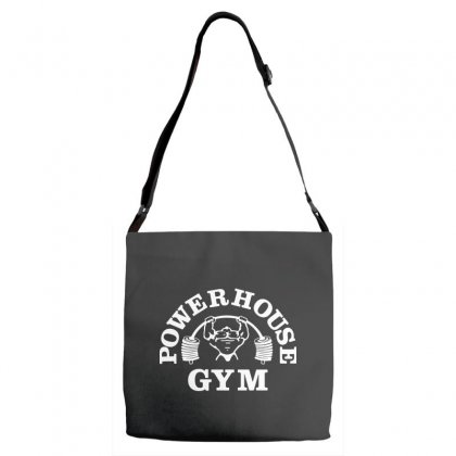 Fashion Bodybuilding Power House Gym Fitness Adjustable Strap Totes Designed By Tee Shop