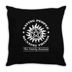 Family Business t shirt Throw Pillow | Artistshot