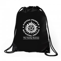 Family Business t shirt Drawstring Bags | Artistshot